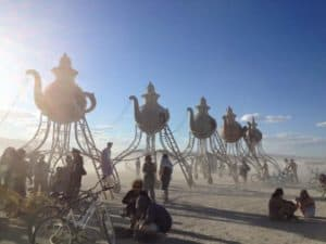 Moving in Circles Burning Man 2016