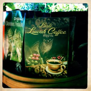 Poop Coffee Kopi Luwak in Bali, Indonesia
