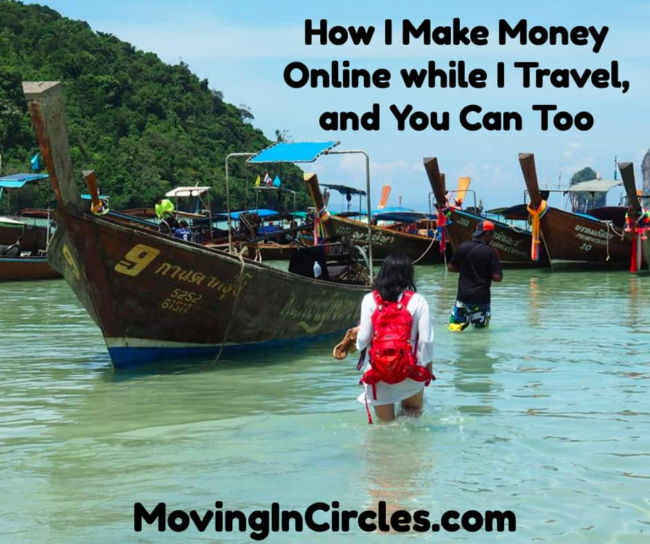 How To Make Money To Travel Temping: Learn How I Make Money Online While I Travel, And You Can Too